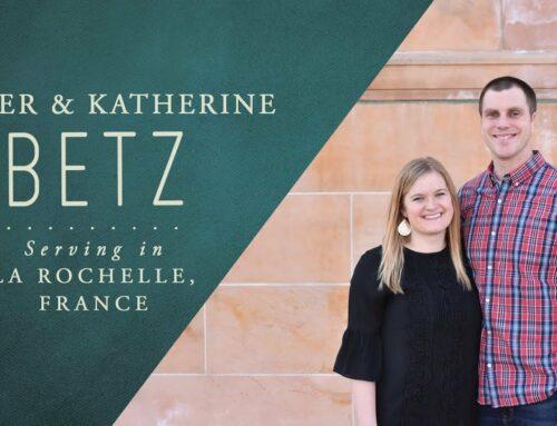3 questions à… Katherine et Tyler Betz